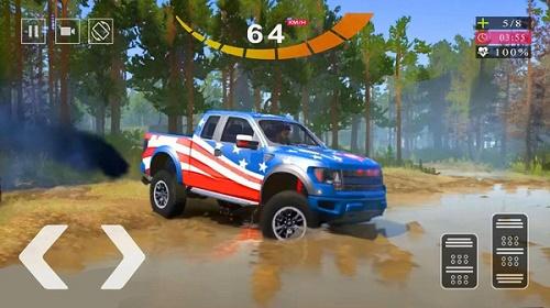 越野皮卡山地驾驶模拟器3D游戏最新安卓版下载