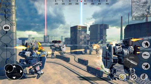 钢铁机器人小队手游下载-钢铁机器人小队安卓版最新免费下载