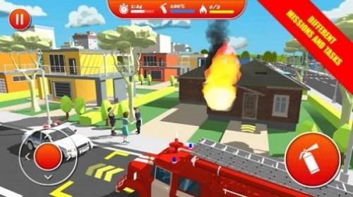 逼真的城市消防员游戏下载-逼真的城市消防员安卓版最新免费下载