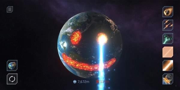 毁灭星球模拟器破解版