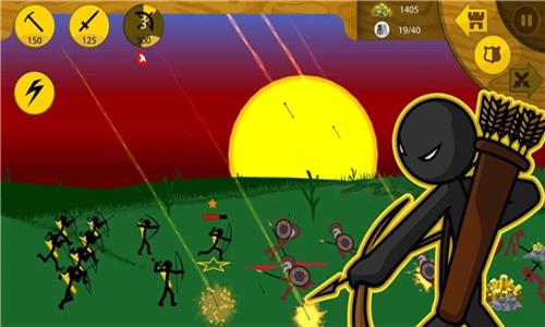火柴人战争3d金币破解版下载-火柴人战争3d破解版无限金币下载