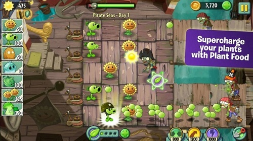 植物大战僵尸2无敌版全五阶植物免费下载